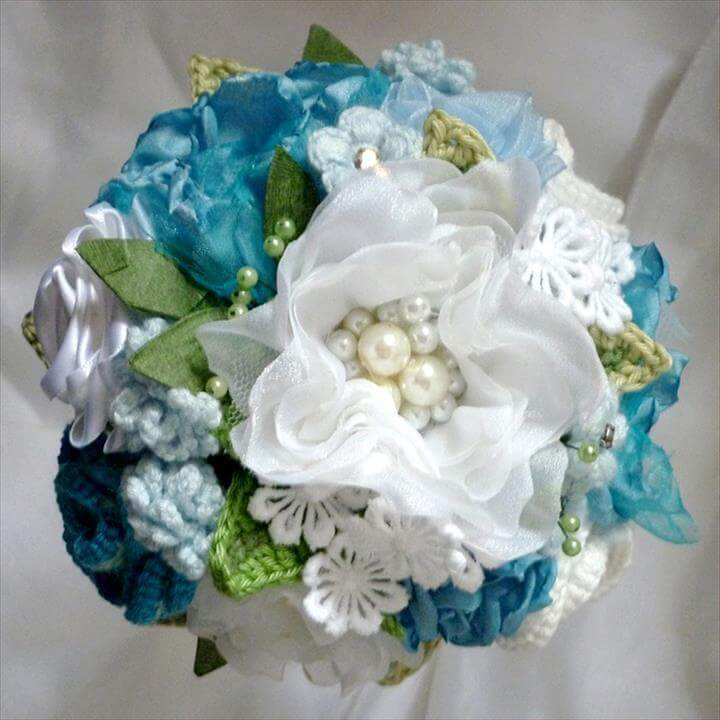 Crochet Flower Bouquet: Crochet Bouquets,
