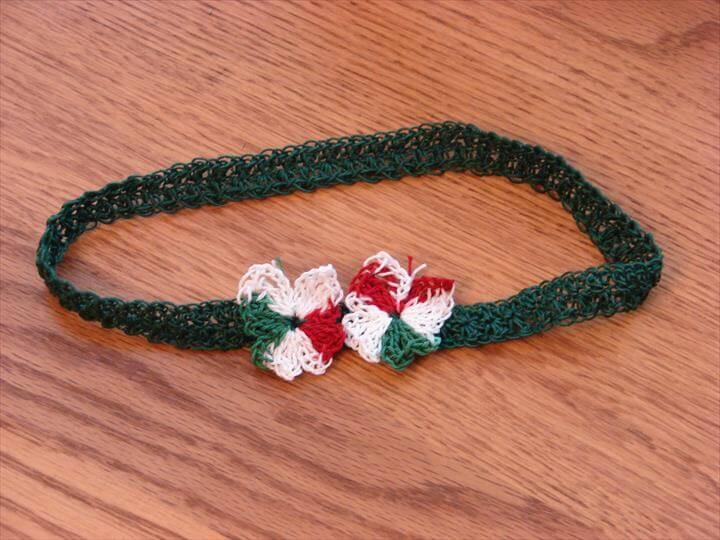 Each Headband is made with Cotton Crochet Thread.