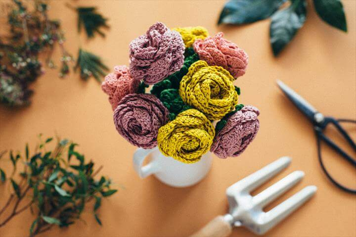 Crochet DIY - Flower Bouquet