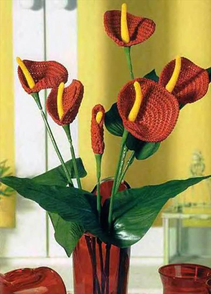 Crochet bouquet, Crochet wedding and Crochet flowers
