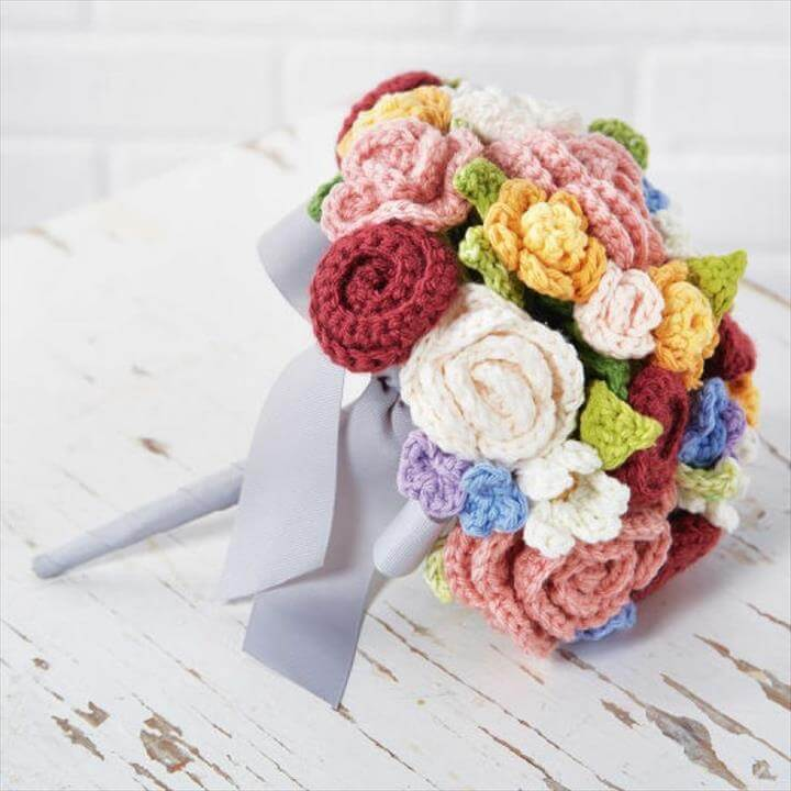 Crochet Floral Bouquet Pattern