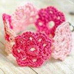 42 Cute Crochet Flower Things Ideas