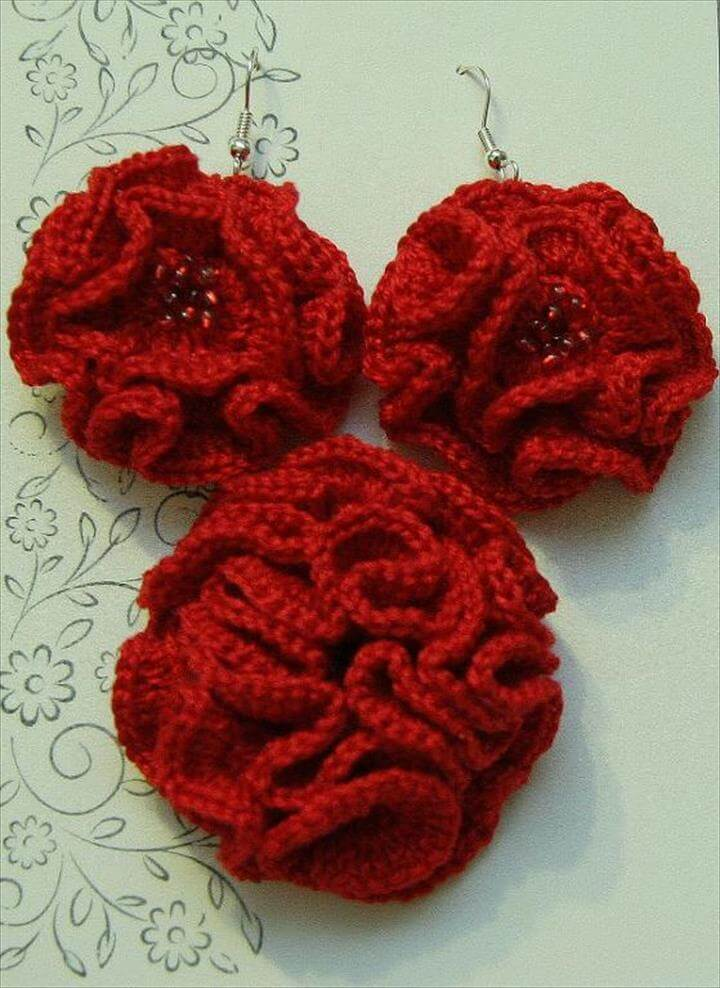 34 Easy Quick Crochet Flowers Pattern