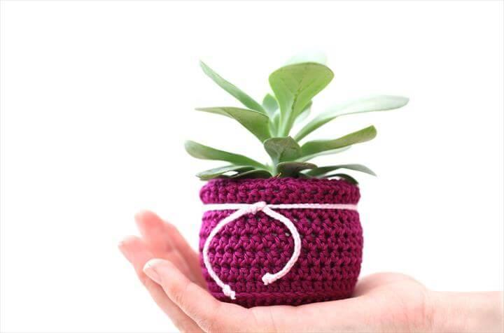 crochet plant cozy Items
