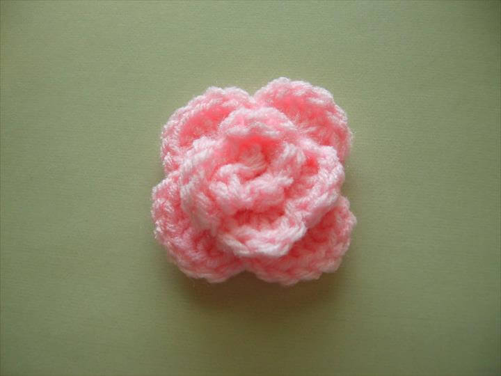 Scrap Yarn Crochet: Free Rose Crochet Pattern