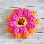 22 Super Easy Crochet Flower Pattern