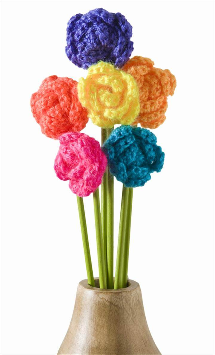 37 flower bouquet crochet pattern free diy to make crochet flower bouquet izmirmasajfo