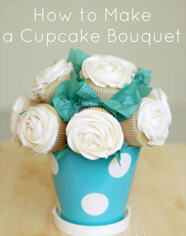 Cupcake Cakes to Wow your Guests