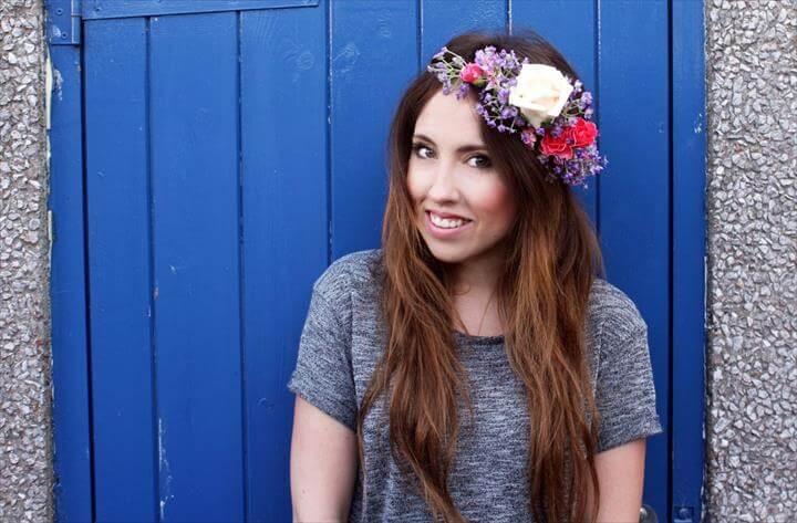 D.I.Y Flower Crown