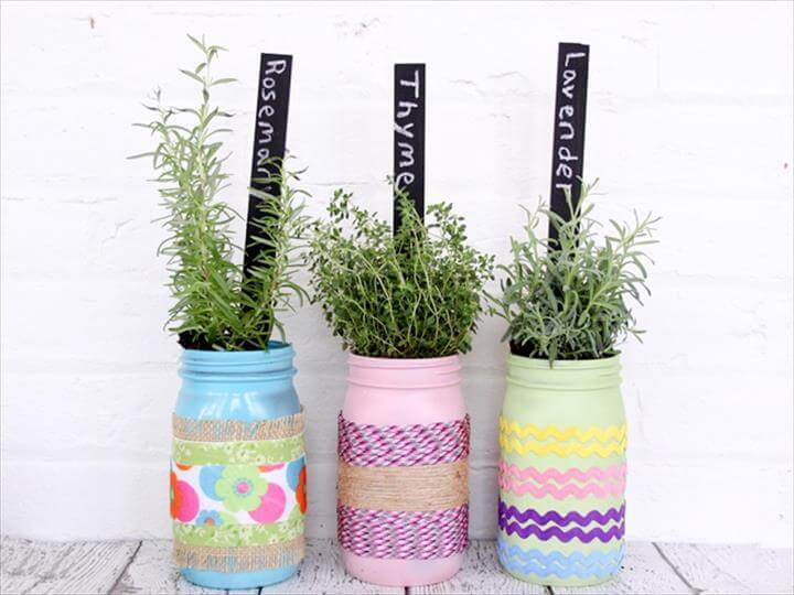 Lovely DIY Mason Jar Crafts That Are Super Useful And Functional