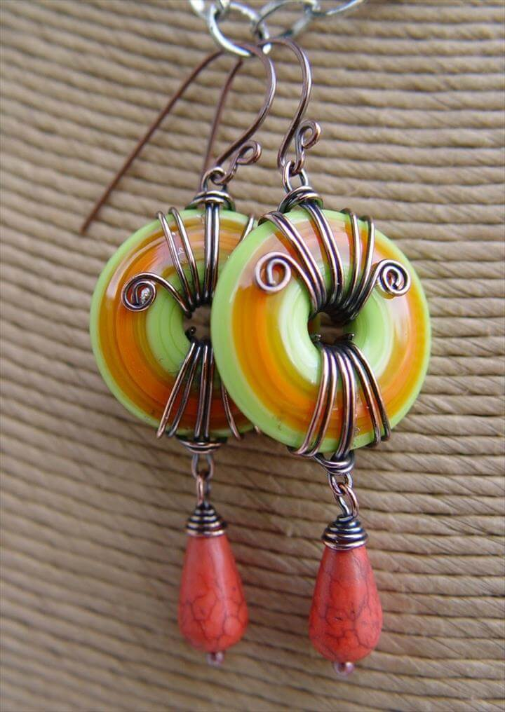 handmade wire jewelry designs 44 gorgeous handmade wire wrapped jewelry idea diy to make 3230