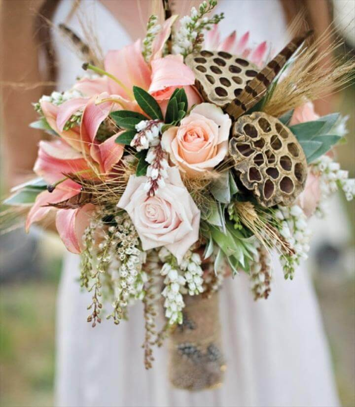 Diy Wedding Bouquet Ideas