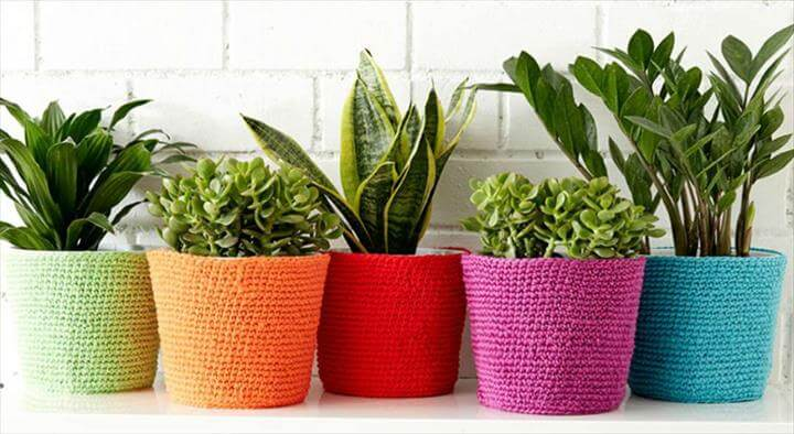 flower pot cozy yourcrochet