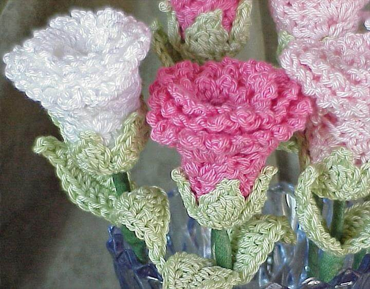Free Crochet Flower Patterns Roses