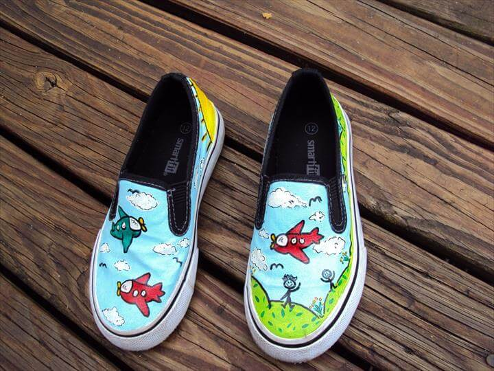 Personalized Hand Painted Shoes