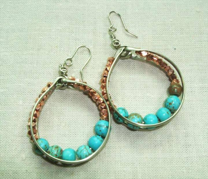 Check Out Some Of These Simple Yet Good Handmade Earring Ideas