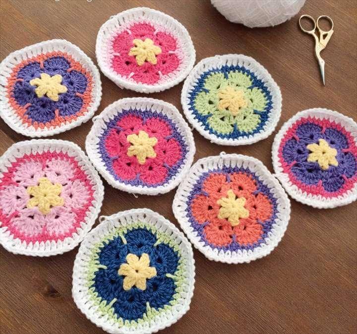 Little Cosy Things - African Flower Crochet - Thirteen