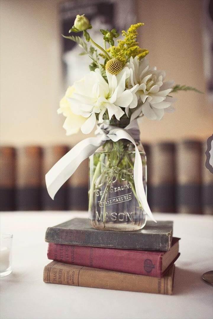Finden Sie Inspiration in der Natur für Ihre Hochzeitsmittelstücke
