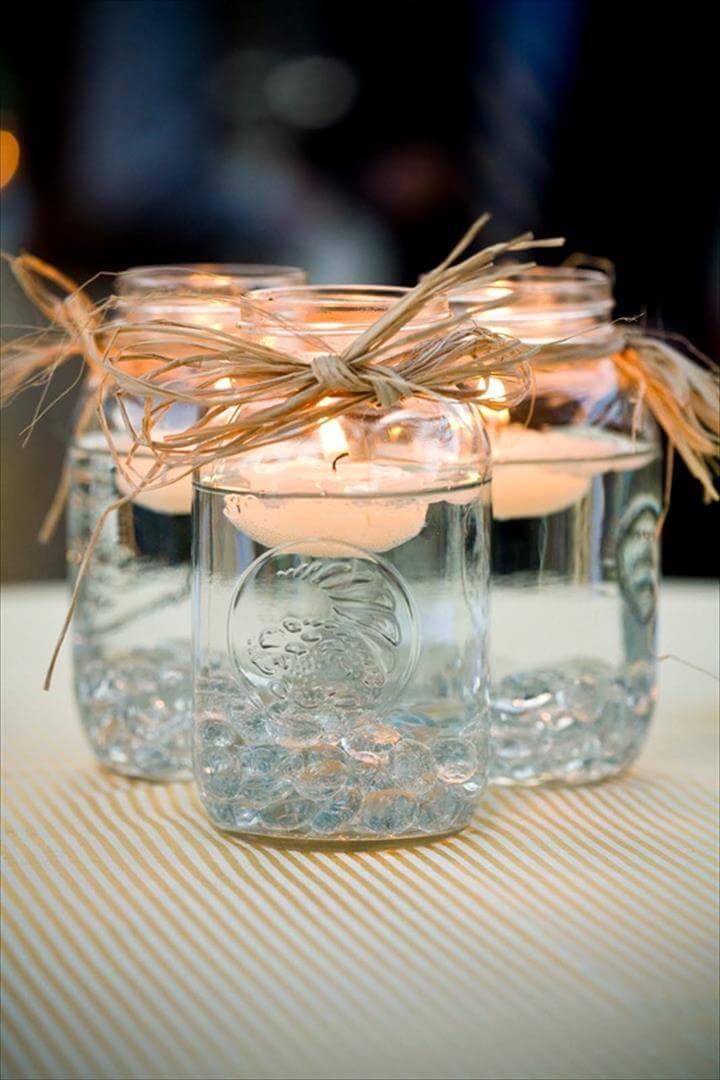 diy mason jar centerpieces, Diy Garden Party Decoration