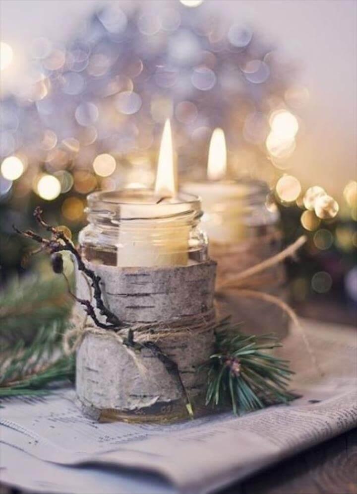68 best cheap mason jar centerpiece ideas rh diytomake com diy chalkboard mason jar candle centerpiece