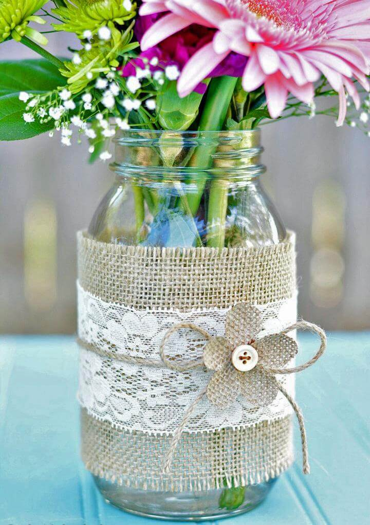 Mason jar decor centerpiece ideas diy to make
