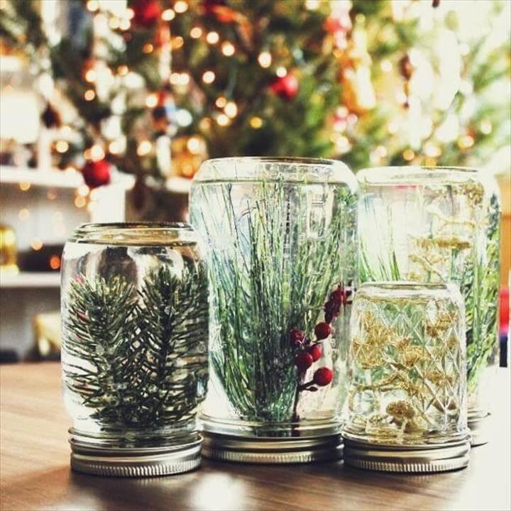 Mason Jar Globes