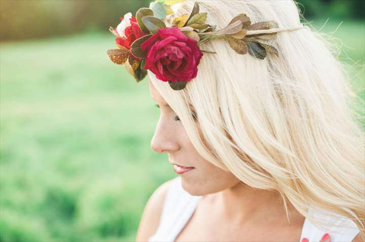 Fri-DIY Flower Crown