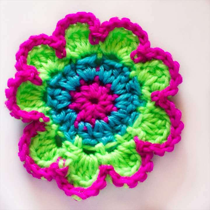 Bouquet of Flowers ~ Crochet Flower Tutorial