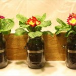 good looking mason jar planter
