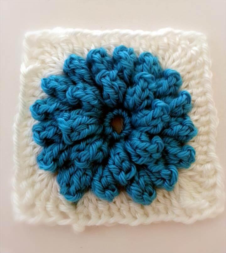 22 Super Easy Crochet Flower Pattern