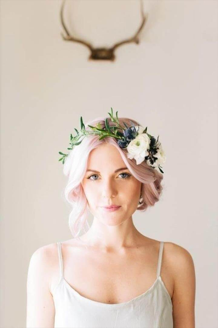 Top 22 Diy Flower Crown For Your Daily Event Diy To Make