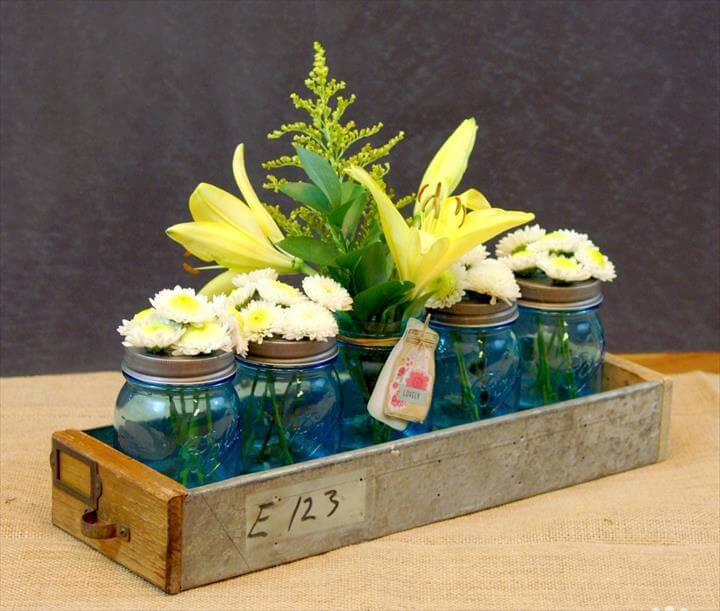15 Mason Jar Decor Centerpiece Ideas
