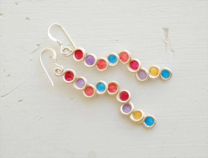 Easy Paper Earrings