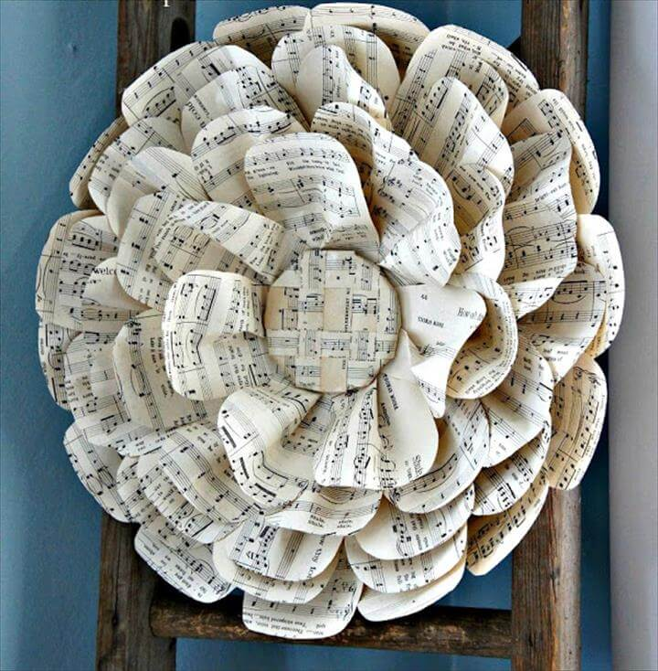 Paper Flower Décor