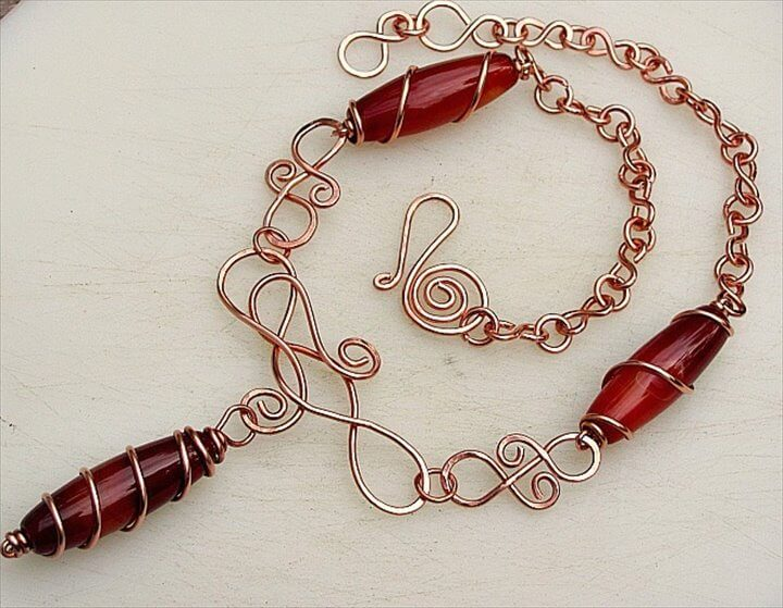 Unique Necklace decoration with Perfect Wire Jewelry Ebay and how to knit a wire necklace