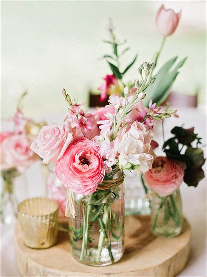 mason jar centerpieces Archives