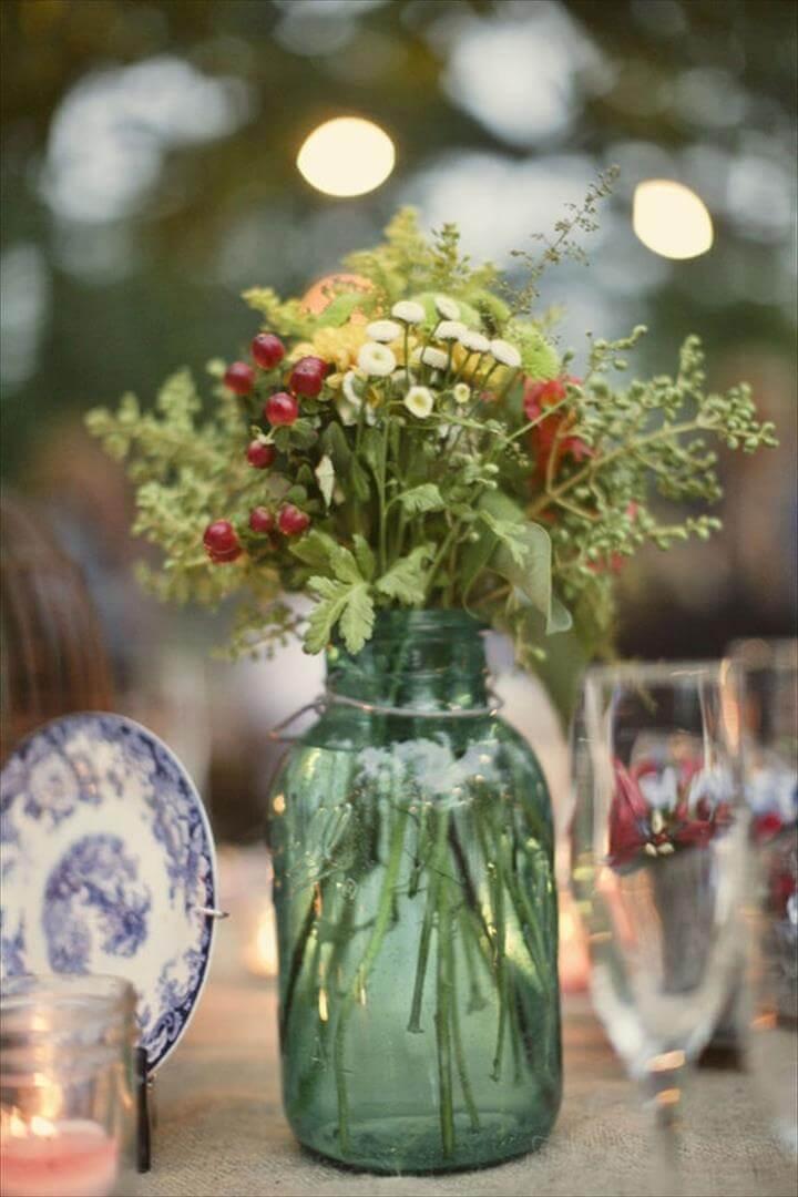 25 Mason Jar Wedding Or Party Mason Jar Ideas