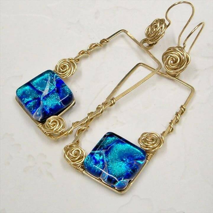 Wire Jewelry Friends Sharing Their Works - Wire Wrap Roses