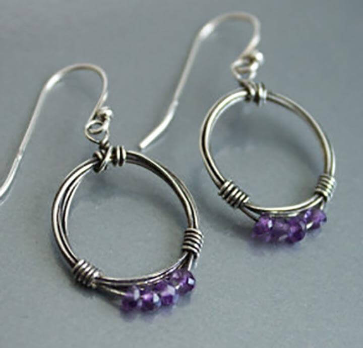 Earrings Made From Wire