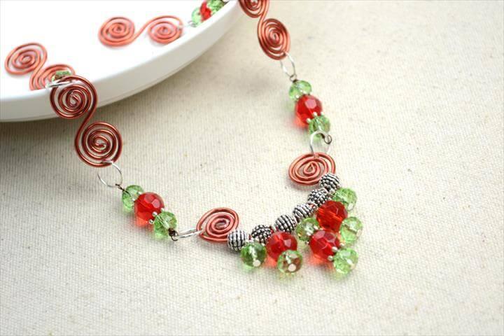 Wire Spiral Jewelry Design