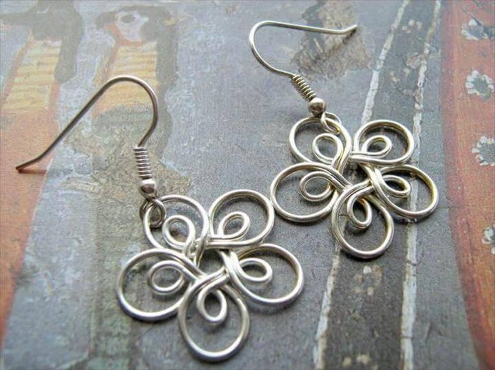 Wire Jewelry Earrings, Wire Earrings