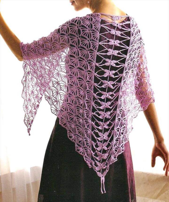 18 quick easy crochet shawl pattern diy to make crochet shawl pattern dt1010fo