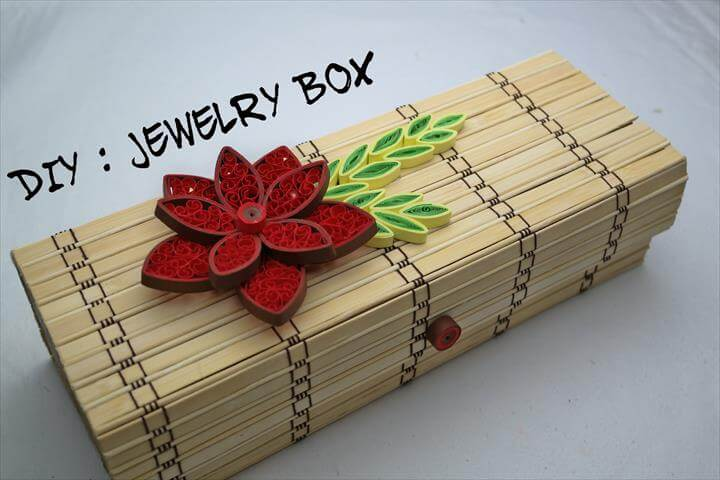 DIY: How To Make Jewelry Box - DIY Jewelry Boxes