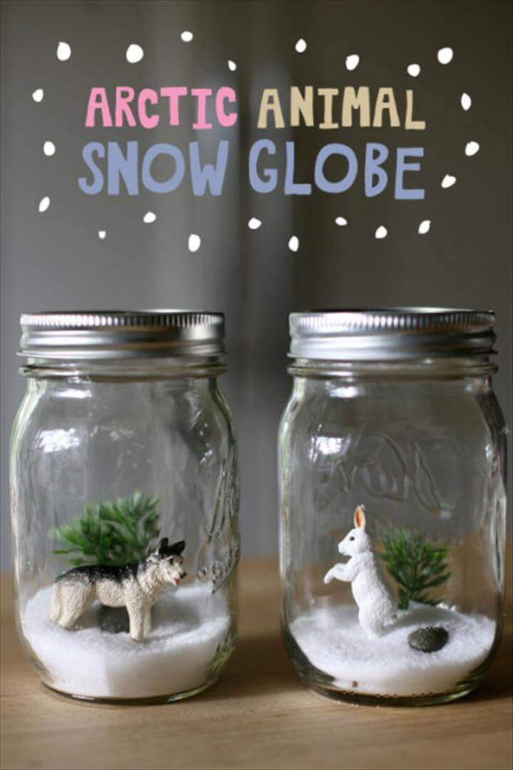 Arctic Animals Snow Globe