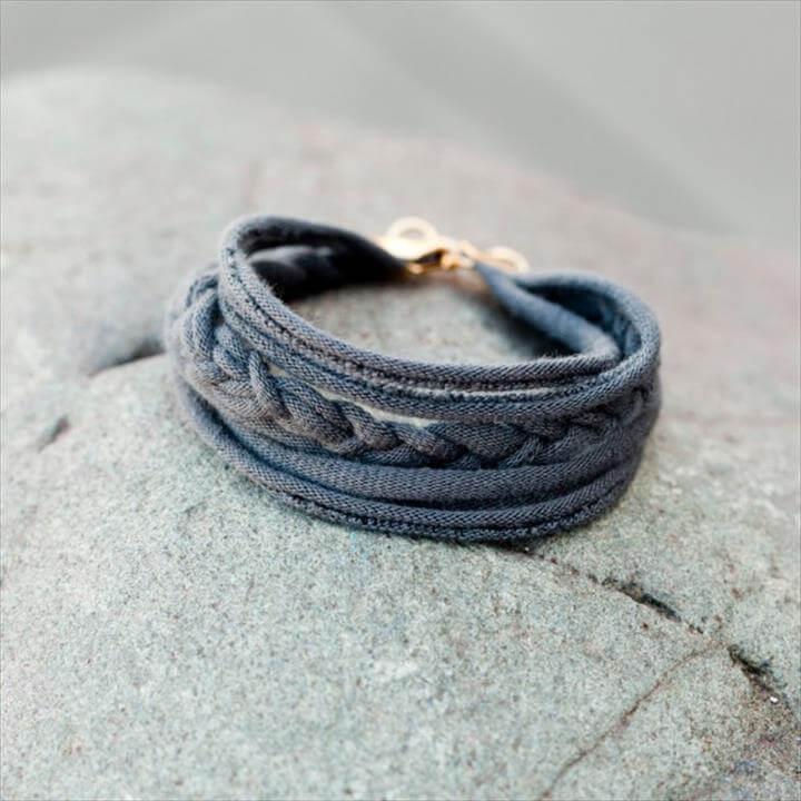 T-Shirt Friendship Bracelet