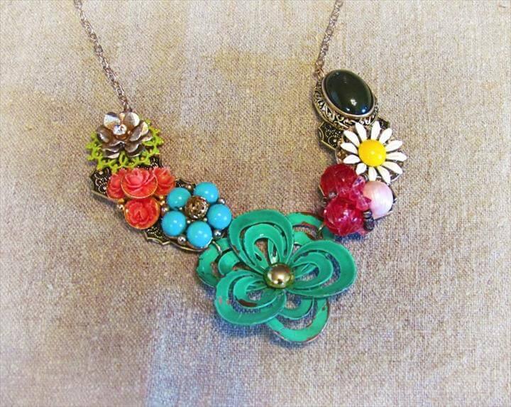 DIY Beaded Necklace Diy Jewelry Necklace Design Ideas