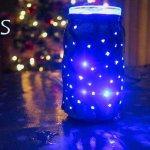 DIY XMAS NIGHT LIGHT - STARS IN A JAR