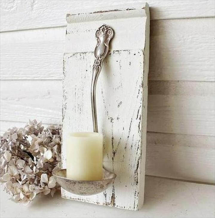 Big Spoon Candle holder