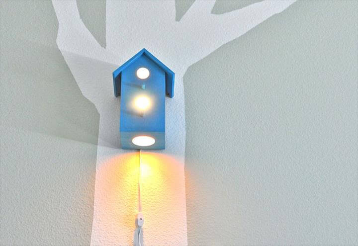 Bird House Night Light