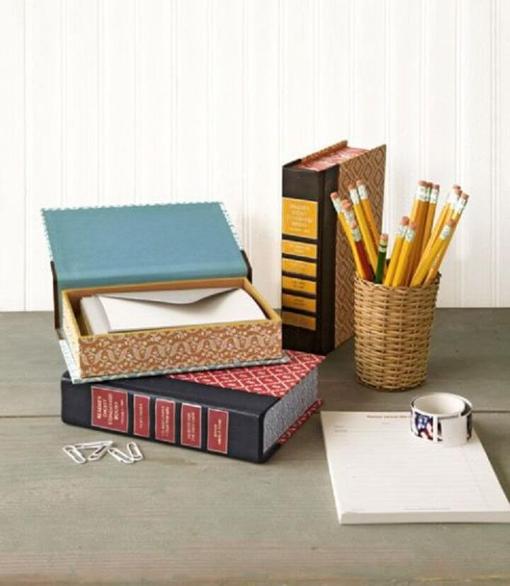 Book Storage Boxes